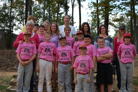 Rockville Renegades Support Breast Cancer Awareness T-Shirt Photo