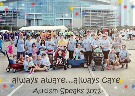 Team Always Aware, Always Care 2012 T-Shirt Photo