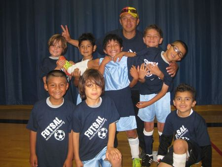 Soccer Kids America Futsal Players T-Shirt Photo