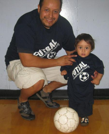 Futsal Dad And Future Player T-Shirt Photo