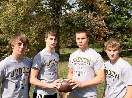 Judson University Inaugural Football Team! T-Shirt Photo