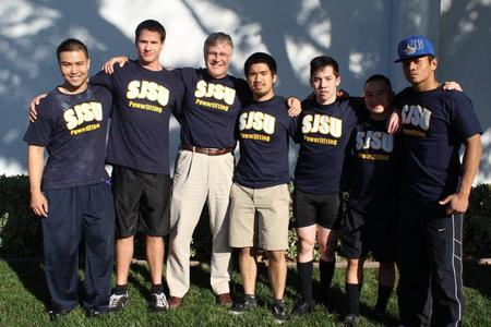 Sjsu Powerlifting Team At San Jose Open T-Shirt Photo