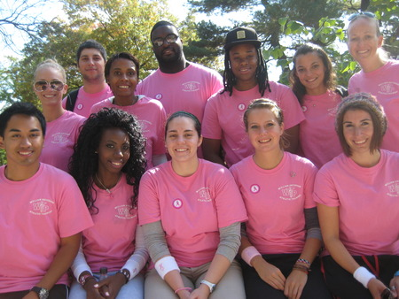 Wpunj Athletic Training Club Breast Cancer Walk 2012 T-Shirt Photo