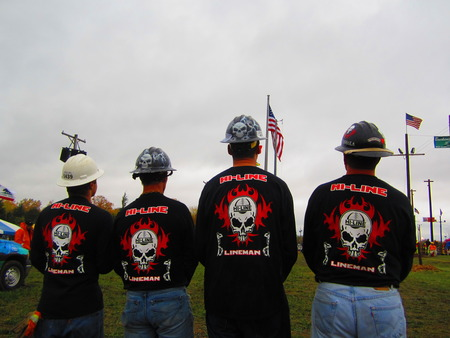 Lineman Rodeo T-Shirt Photo