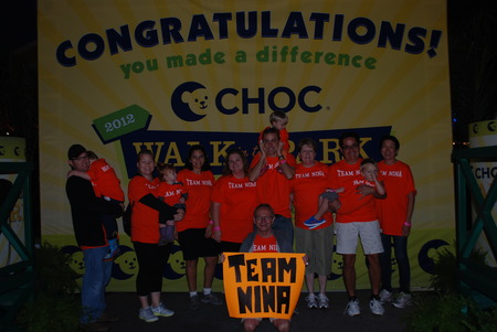 Choc Walk In The Park   Team Nina T-Shirt Photo