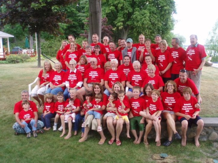 Hoop N Holler Family Reunion T-Shirt Photo