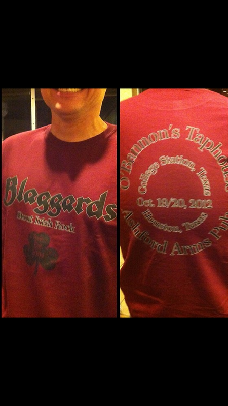 Blaggards Texas Shirt T-Shirt Photo