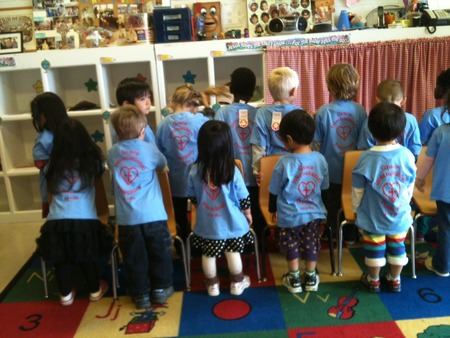 Proud Grace International Preschool Students 2012 2013 T-Shirt Photo