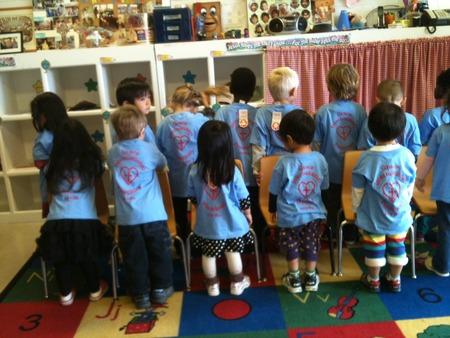 Proud Grace International Preschool Students 2012 2013 T-Shirt Photo