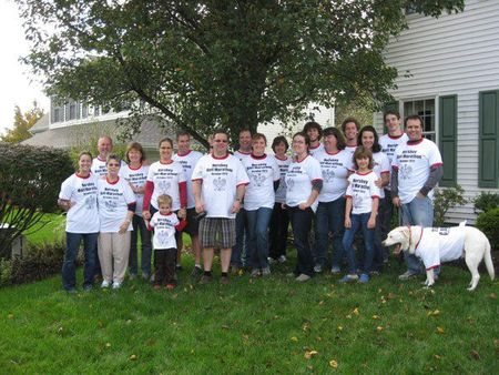 Family Reunion At Hershey Half Marathon T-Shirt Photo