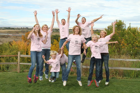 Jump For Joy Kim Made It To 40! T-Shirt Photo