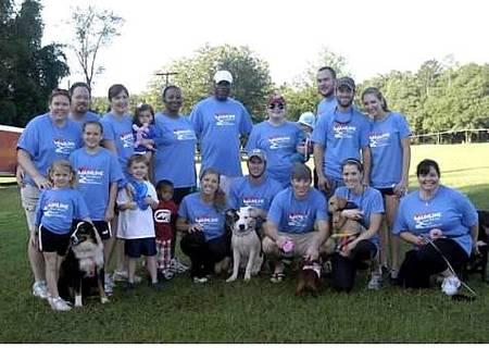 Mainline Heart Walk Team   Taking The Heart Healthy Road... T-Shirt Photo