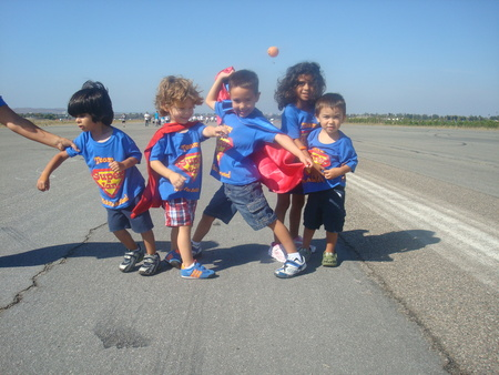 Superheroes Ready To Save The Day! T-Shirt Photo