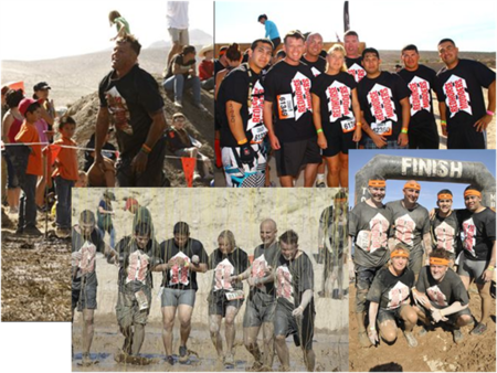 Red Horse Mudders T-Shirt Photo