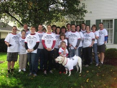 Hershey Half Marathon For Cancer Research T-Shirt Photo