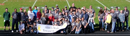 Alex's Walk Toward Wellness T-Shirt Photo