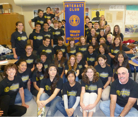 Memory's Interact Club  T-Shirt Photo