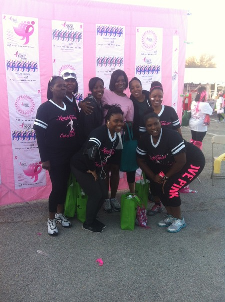 Team Cooki Sgk Dallas Race For The Cure T-Shirt Photo