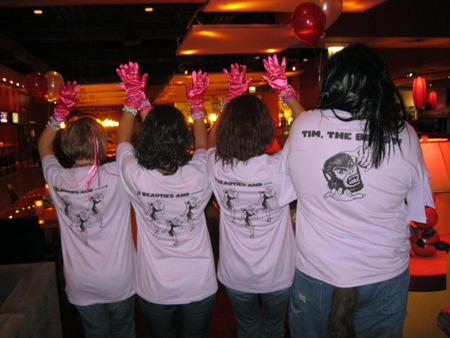 Markel Corporation Strikes Out Cancer By Soquinn T-Shirt Photo