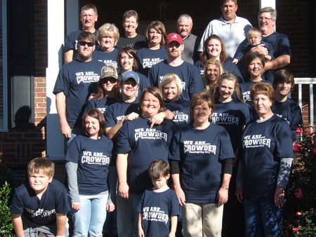 Crowder Bowl/Thanksgiving 2011 T-Shirt Photo