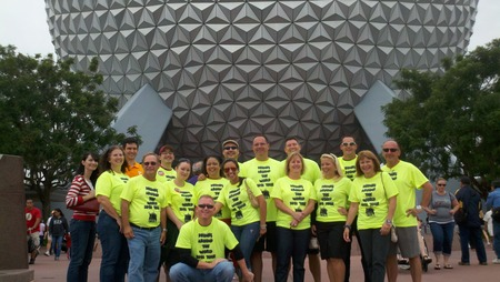 Epcot Group Shot T-Shirt Photo