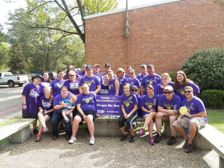 Family Team For The Walk To End Alzheimer's! T-Shirt Photo