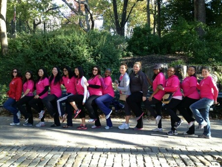 Team Angela's Angels, Making Strides & Saving One Breast At A Time T-Shirt Photo