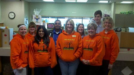 Merchants Bank Haunted Trail 2012 T-Shirt Photo