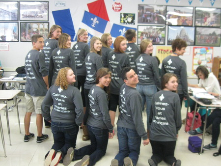 National French Week At Whs T-Shirt Photo