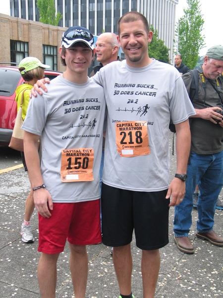 Marathon T-Shirt Photo