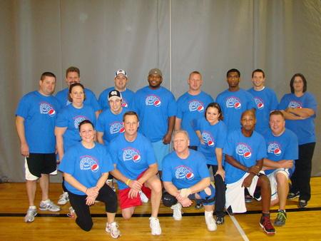 Howell Pepsi Volleyball T-Shirt Photo