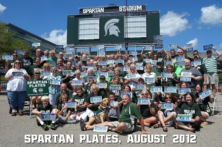 Spartan Plates 2012 T-Shirt Photo