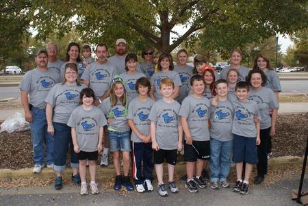 Will's Walking Warriors T-Shirt Photo