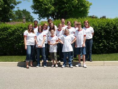 Team Fundraiser T-Shirt Photo