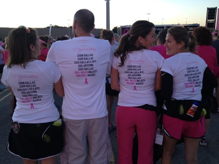Team Pinkalicious  Another 60 Miles Walked! T-Shirt Photo