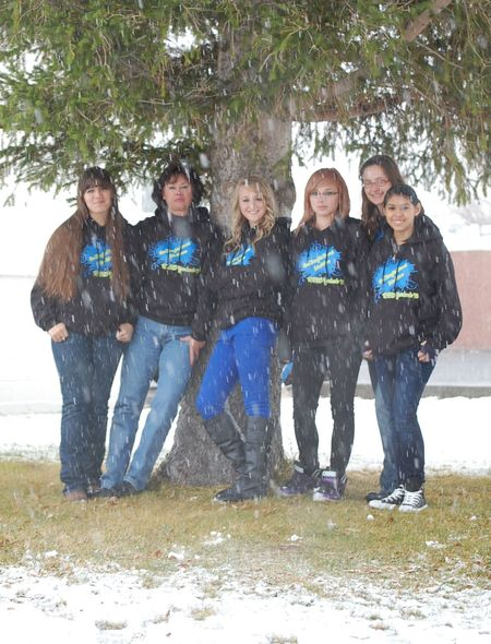 Raft River High Yearbook Staff T-Shirt Photo