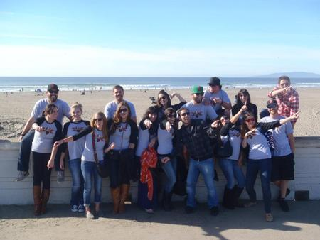 Kicking Off The Brew Tour   Ocean Beach/Beach Chalet T-Shirt Photo