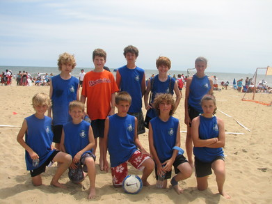 Sand Soccer Va Beach T-Shirt Photo