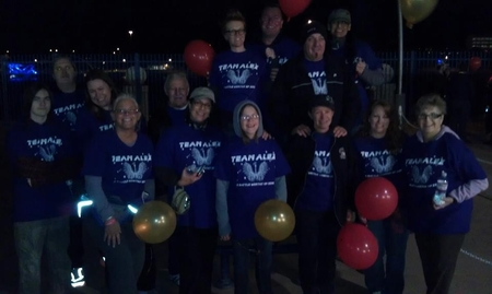 "2012 Phoenix ""Light The Night"" Leukemia Walk T-Shirt Photo"