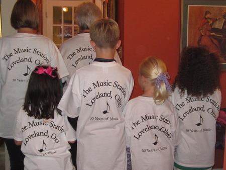 At The Music Station T-Shirt Photo