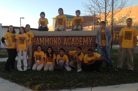 Hast Gold Robotics Team T-Shirt Photo