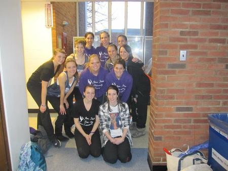 University Dance Company Cozy In Custom Ink! T-Shirt Photo