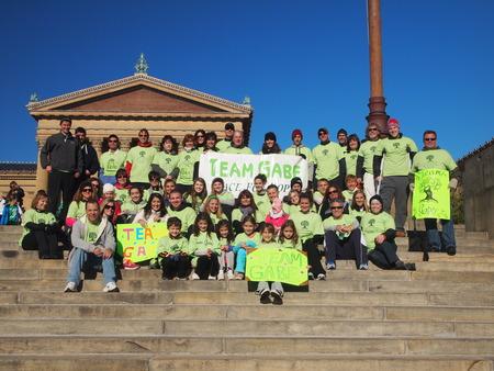 Team Gabe Race For Hope 2012 T-Shirt Photo