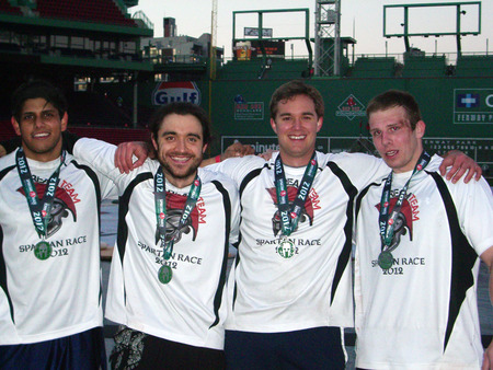 Dream Team Spartan Race Fenway 2012 T-Shirt Photo