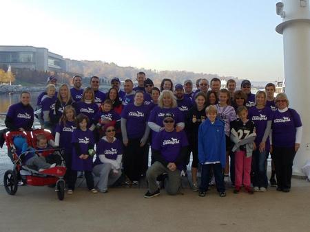 Multiple Myeloma Research Foundation 5 K T-Shirt Photo