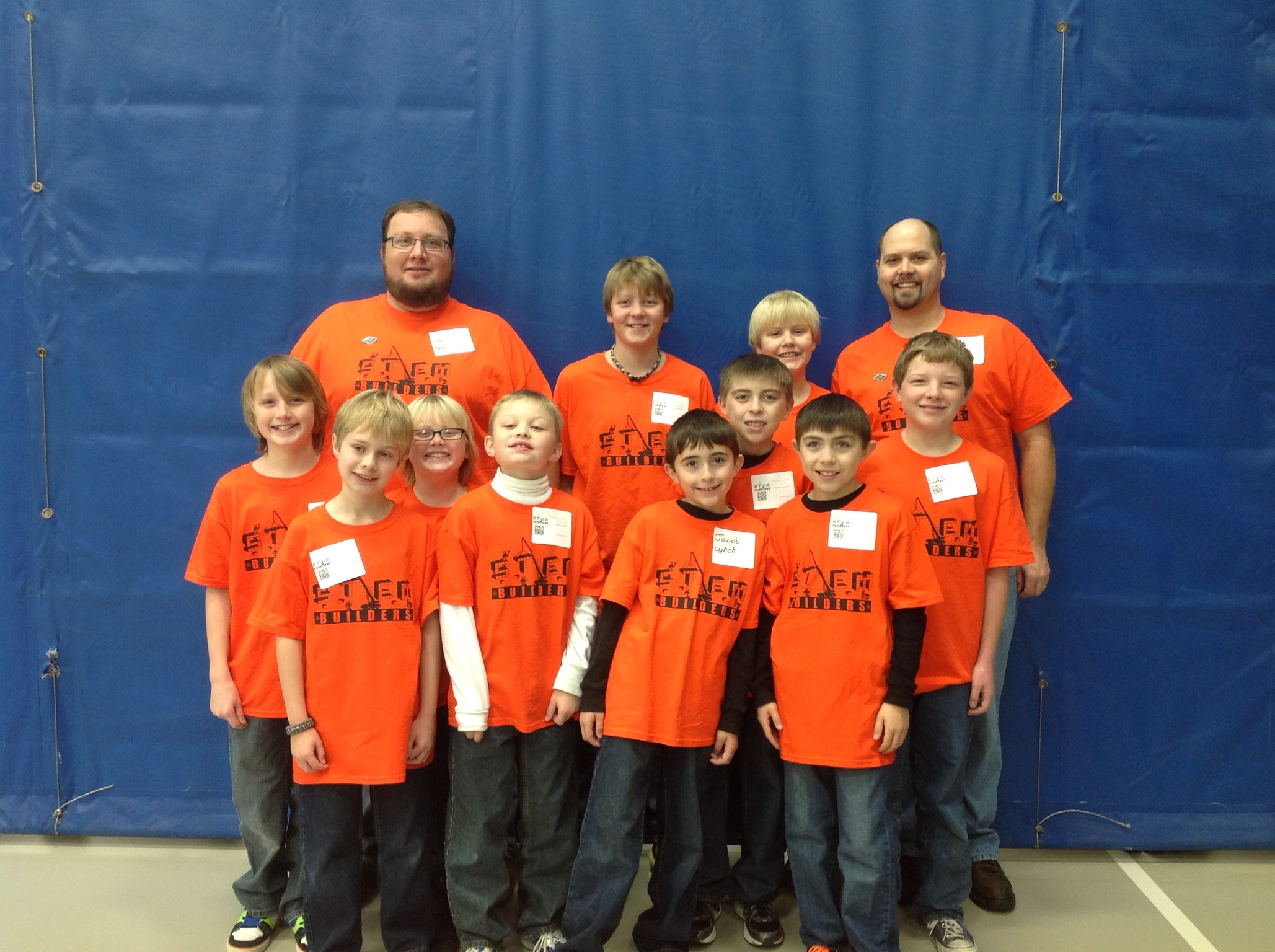 Custom t shirts for team stem builders first lego league for Builders first