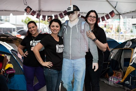 Team Hbg Takes Over Breaking Dawn 2 Tent City T-Shirt Photo