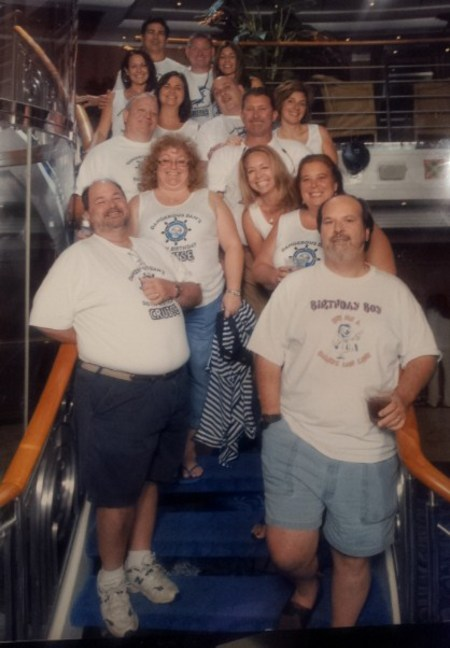 Dangerous Dan's 50th Birthday Cruise T-Shirt Photo