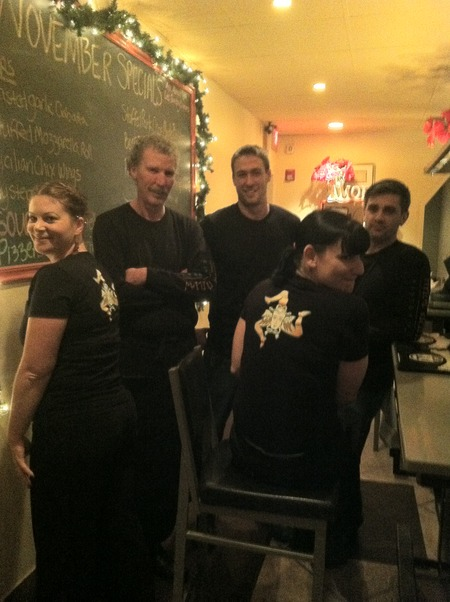 The Crew In Black T-Shirt Photo