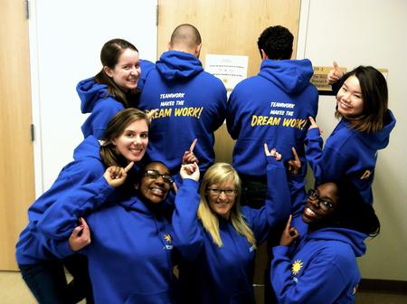 Teamwork Makes The Dream Work! T-Shirt Photo